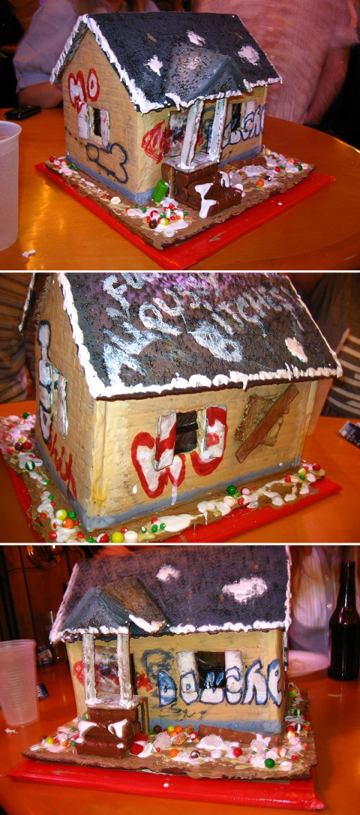 Gingerbread Crackhouse