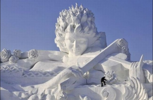 Cool Snow Sculpture