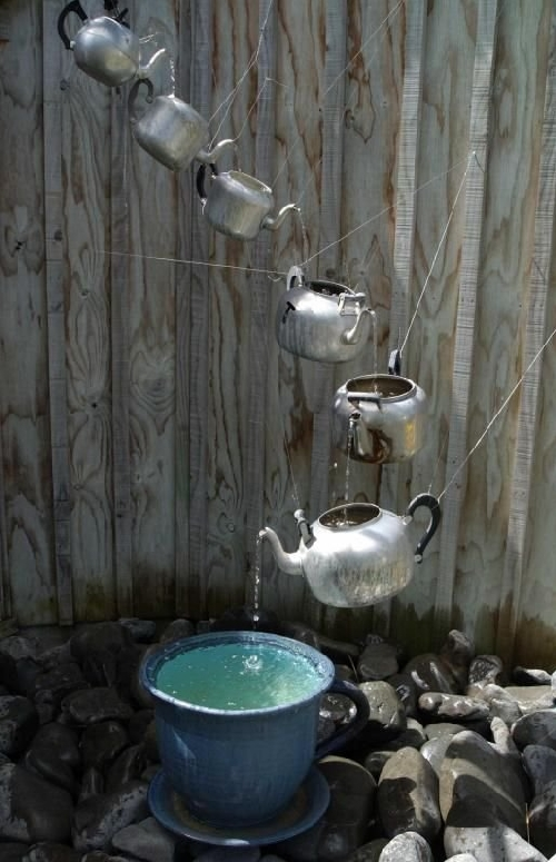 Home Made Watering Fountain