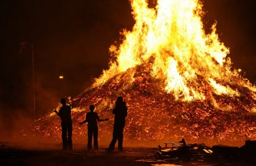Huge Bonfire