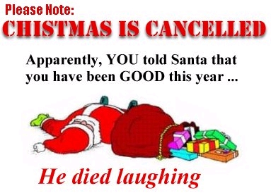 Christmas Is Cancelled