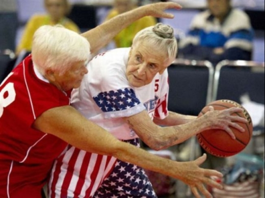 Basketball For Grandma