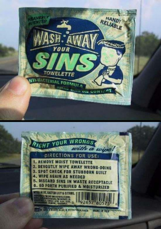 Wipe Away Your Sins
