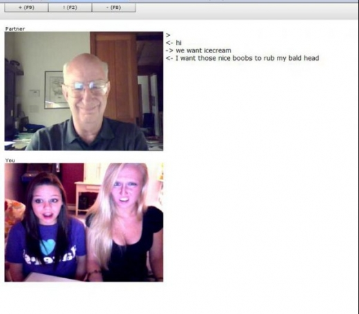 Old Man on Chatroulette